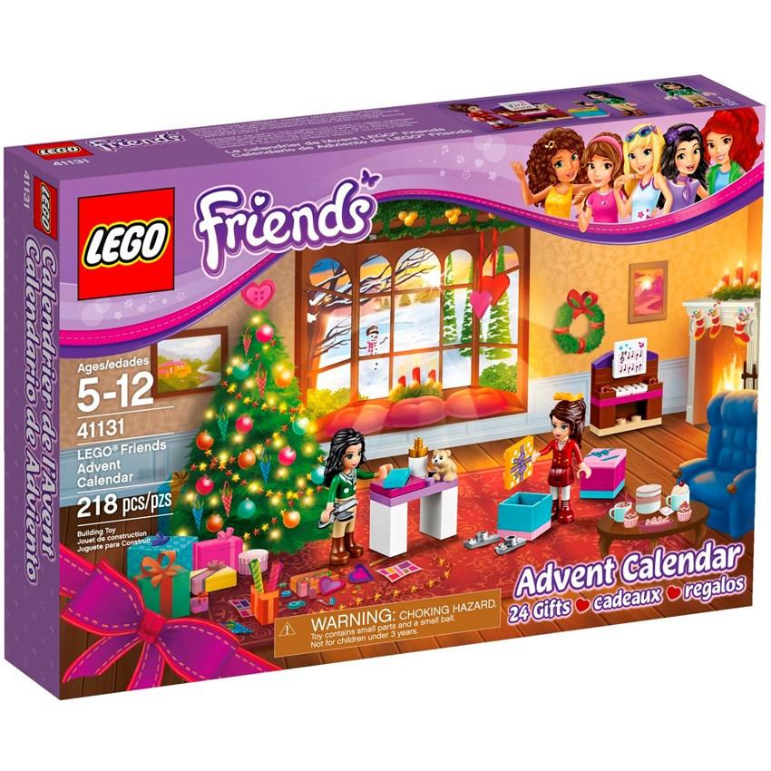 LEGO 41131 Friends - Різдвяний календар 2016 (Лего Френдс Новогодний календарь, LEGO Friends Advent Calendar)