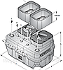 SAR 550 - VXm 15/35  Pedrollo до 13м, 60 куб/ч., фото 2