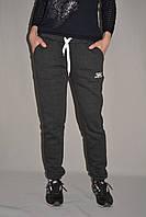 Спортивные штаны женские утепленные на флисе серые, синие р.ХS-L Украина