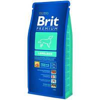Brit Premium Lamb and Rise 15кг-корм для взрослых собак с ягненком