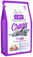 Brit Care CRAZY Kitten - корм для котят (курица/рис) 7КГ