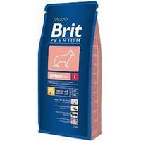 Brit Premium Junior L 3кг-корм для щенков крупных пород