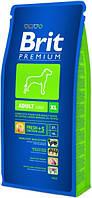 Brit Premium Adult XL 15кг-корм для собак гигантских пород