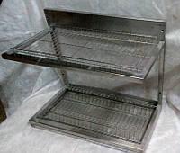 Сушка для посуды 600 мм из нержавеющей стали