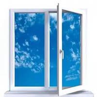 Двухчастное поворотно-откидное окно Aluplast Ideal 4000 (5 кам) 1300*1400, фото 1