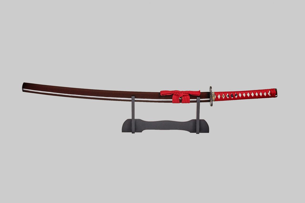 Самурайский меч катана 139104 ,подставка и чехол