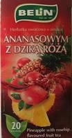 Чай фруктовый Belin со вкусом ананаса-шиповника , 20 пак