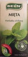 Чай травяной Belin с мятой , 24 пак