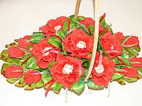 """Букет из конфет.Корзина роз с raffaello """"Прелесть"""""""