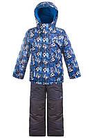 Детский зимний костюм для мальчика Salve by Gusti SWB 5075. Размер 104 - 122.