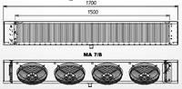 Воздухоохладители МА 8 ED bt S.E.R. (Италия)