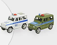 Машина полиция и военная автоинспекция