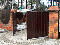 Распашные ворота от производителя