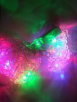 """Светодиодная Гирлянда """"снежинка"""" на 40 ламп, фото 1"""