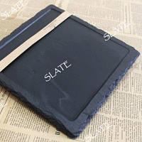 Тарелка для бифштекса SLATE  PS21 натуральный сланец