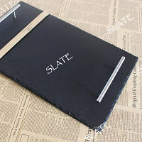 Сервировочная тарелка SLATE PS72 натуральный сланец