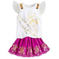 Костюм для девочки 5/6 лет с Феей Динь - Динь Дисней / Tinker Bell Skirt Set Disney