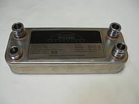Теплообменник ГВС вторичный пластинчатый Vaillant Atmo/Turbo Max Pro/Plus ( 3-и штуцера 1-а резьба). 24 kW. 12