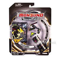 Стартовый набор Monsuno S.T.O.R.M Goldhorn 1-Packs W4 34437-42912-MO