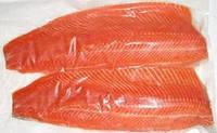 Филе лосося охлажденное-Семга. Норвегия-США.