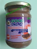 Арахисовая паста (масло) с черным шоколадом и мятой.  ТМ «Good Energy», 250 г
