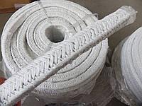 Асбестовый шнур плетеный квадратного сечения
