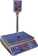 Весы торговые ДВ F902H-EL  3-6-15-30 кг