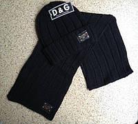 Разные цвета D&G шапка + шарф вязаные для взрослых и подростков хлопок дольче габбана, фото 1
