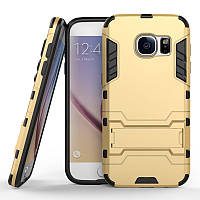 Чехол Samsung S7 edge / G935 Hybrid Armored Case золотой