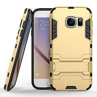 Чехол Samsung S7 edge / G935 Hybrid Armored Case золотой