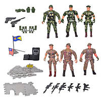 Набор игровых фигурок Солдаты 8810