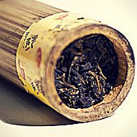 Бамбуковый шэн пуэр!