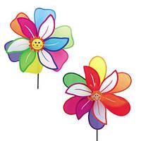 Вітрячок M 0805 квітка, 2 види, кул., 42 см