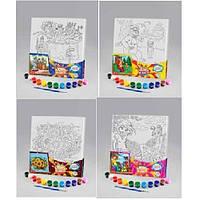 Набор для творчества «Раскраска на холсте» РХ-03-01,02,03,04...10 Danko Toys