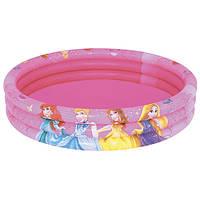Детский надувной бассейн «Принцессы» BW 91047 Bestway, 122х25 см