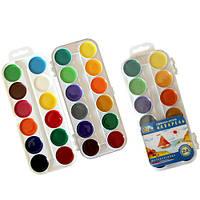 Краски акварельные медовые полусухие «Увлечение» 312060 Гамма, 24 цвета