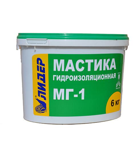 Мастика гідроізоляційна МГ-1 (12кг)
