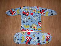 Пижама махровая  вел-софт) р110,116  для мальчиков