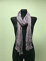 Сиреневый шарф