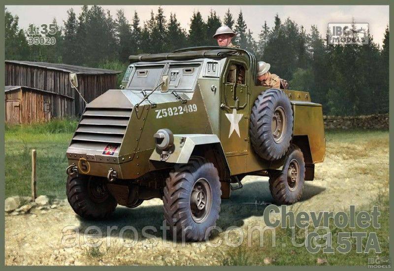 Бронеавтомобиль Chevrolet C15TA 1/35 IBG 35020
