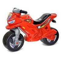 Каталка-мотоцикл 2-х колесный с сигналом 501 в.3 Орион, красный