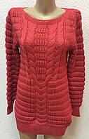 Женский вязанный свитер оптом в ассортименте , фото 1
