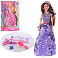 Кукла с набором парикмахера LH201524
