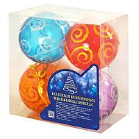 Набор ёлочных шариков 8234