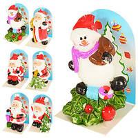 Свеча новогодняя Дед Мороз J01143