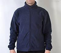 Флисовая камуфляжная кофта, темно-синяя