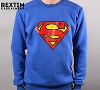 Мужской свитшот утепленный Rextim - Superman