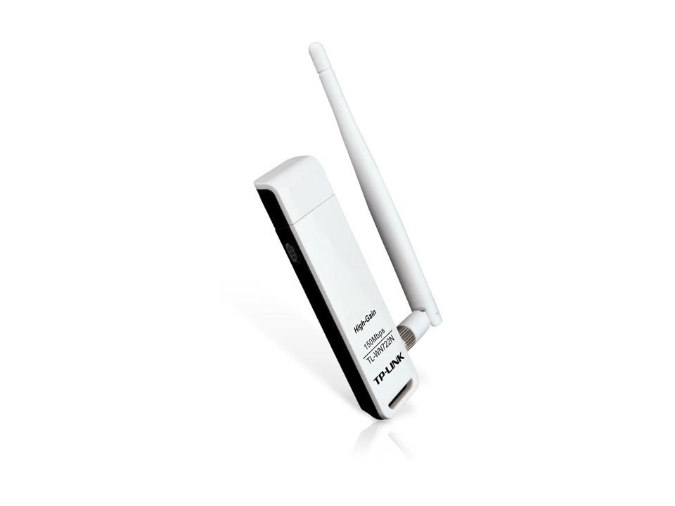 Адаптер Wi-Fi TP-Link TL-WN722N, USB