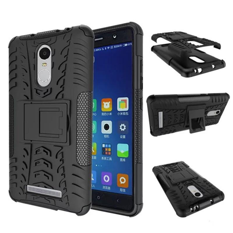 Чехол для Xiaomi Redmi Note 3  Armor black