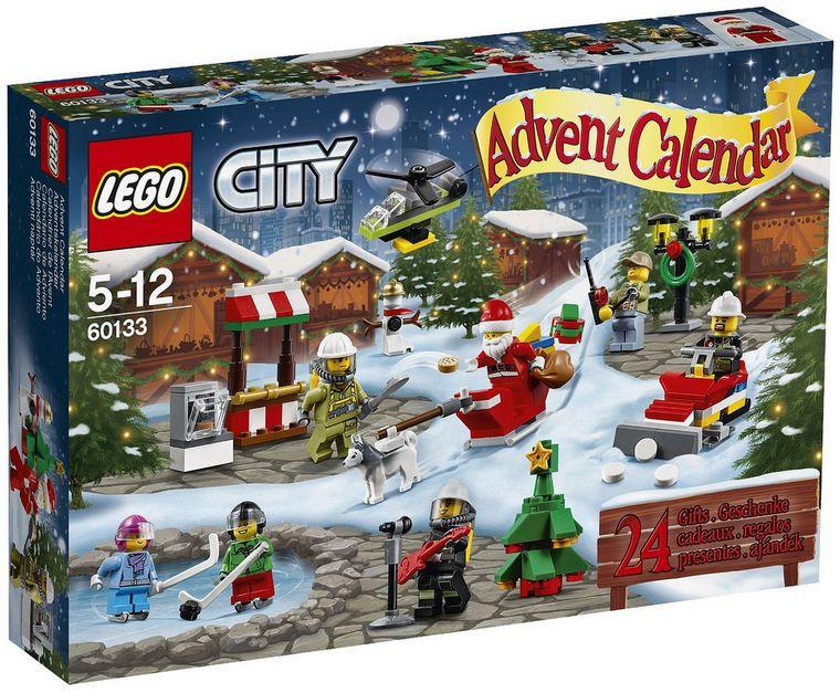 LEGO 60133 City - Різдвяний календар 2016 (Лего Сити Новогодний адвент календарь, LEGO City Advent Calendar)